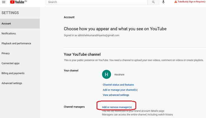 youtube-channel-another-gmail